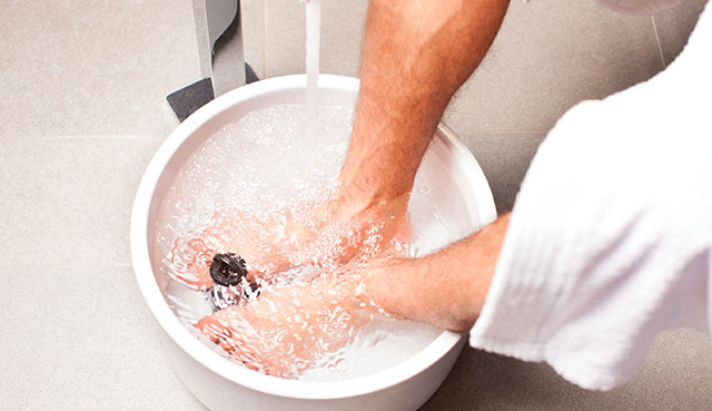 contrast bath shin splints remedy
