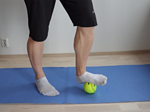 foot foam roll