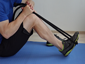 shin splints exercises - ankle flex