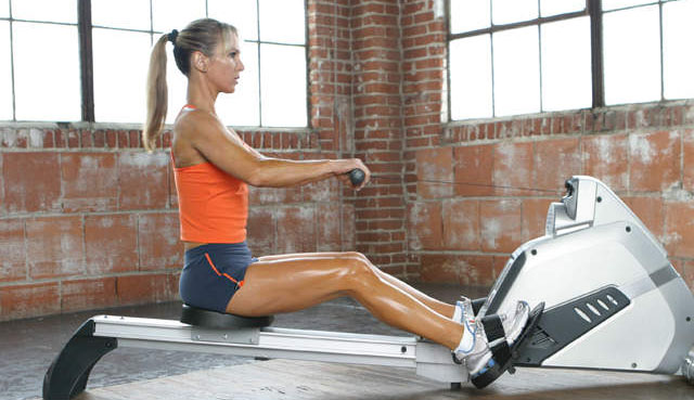 rowing workout for shin splints